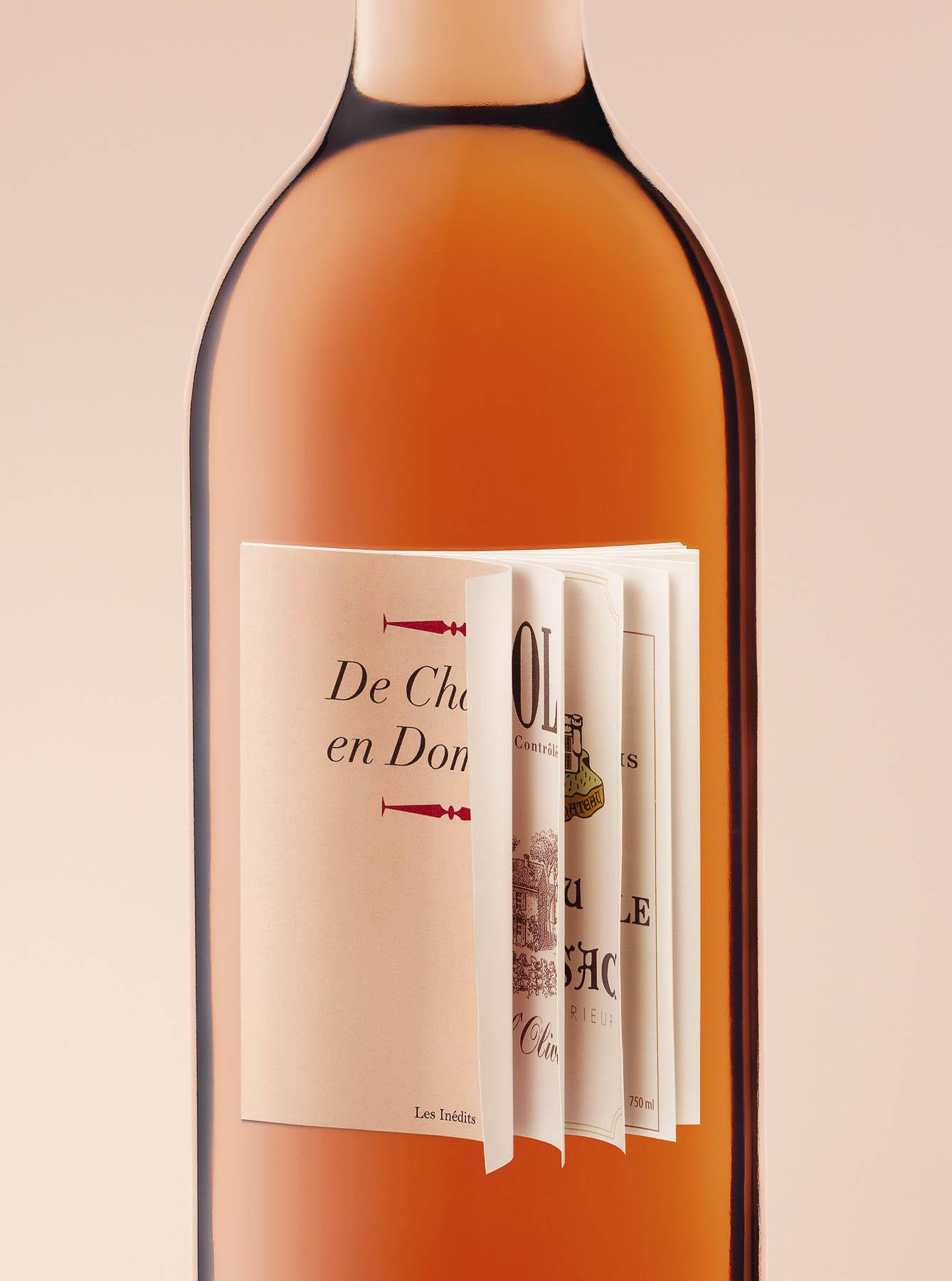 Dessert wine - Wine bottle